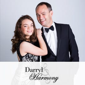 darryl and harmony corporate singers