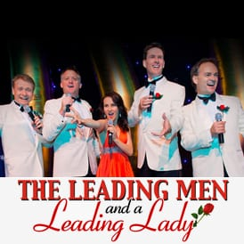 the leading men and a leading lady