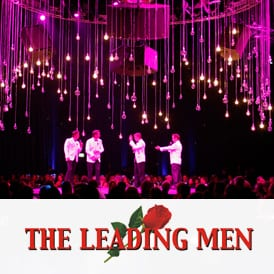 the leading men corporate entertainment